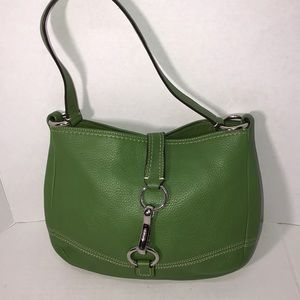 Really nice Leather Green Apple Coach Bag